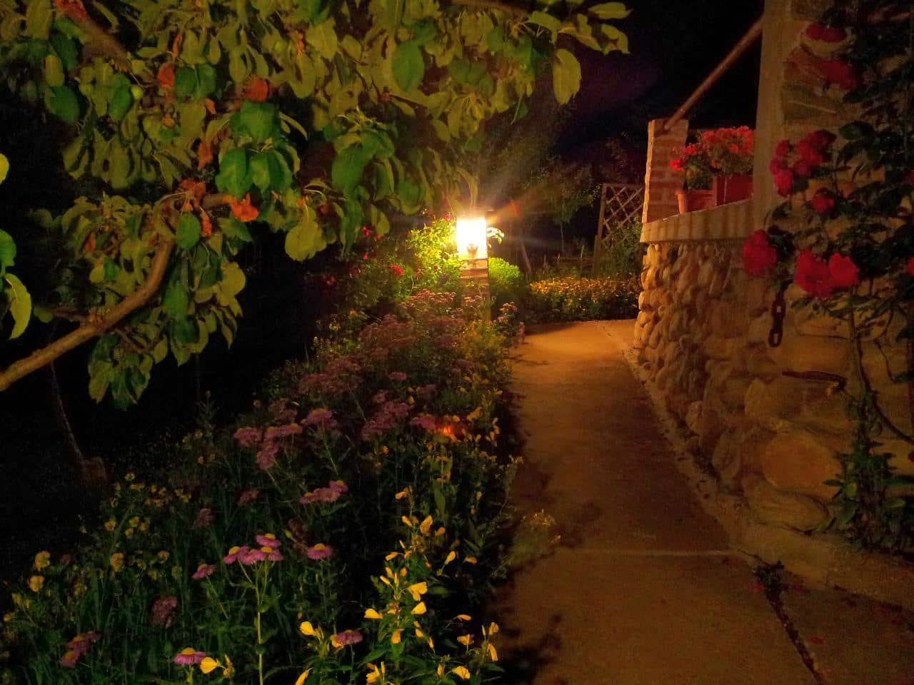 -за-гости-Каза-Роза-Двор-Осветление-нощна-снимка-2